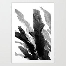 Banana Leaves Jungle #3 #tropical #decor #art #society6 Art Print