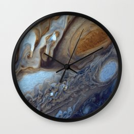 Jupiter Swirls Wall Clock