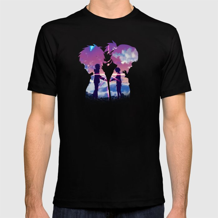 Kimi No Na Wa Your Name T Shirt By Mackubex Society6
