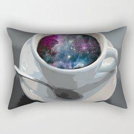 galaxy coffee Rectangular Pillow
