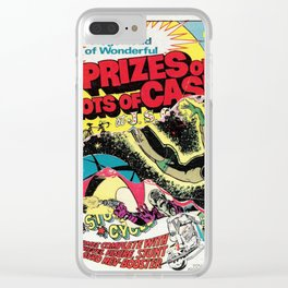 Super Heroes Nr.2 Clear iPhone Case
