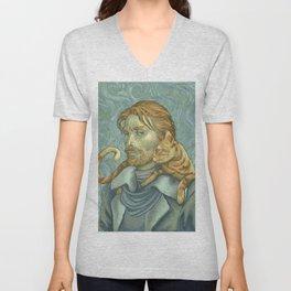 Van Gogh Caleb Unisex V-Neck
