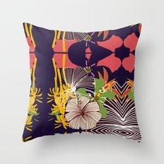kaleidoscope 01 Throw Pillow