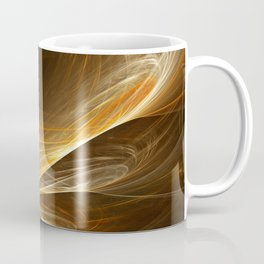Golden Spiral Coffee Mug