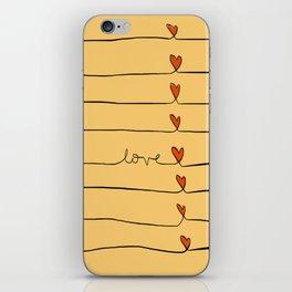Lovelines iPhone Skin
