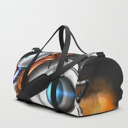 Myself in the world of portal Duffle Bag