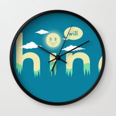 i will shine Wall Clock