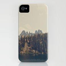 Mountain Blue Slim Case iPhone (4, 4s)