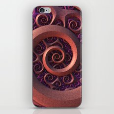 Spiral Mania iPhone & iPod Skin
