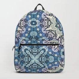 winter mandala pattern Backpack
