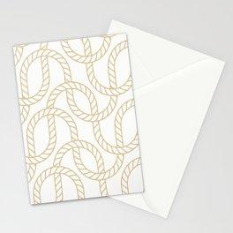 Marina Gold Stationery Cards