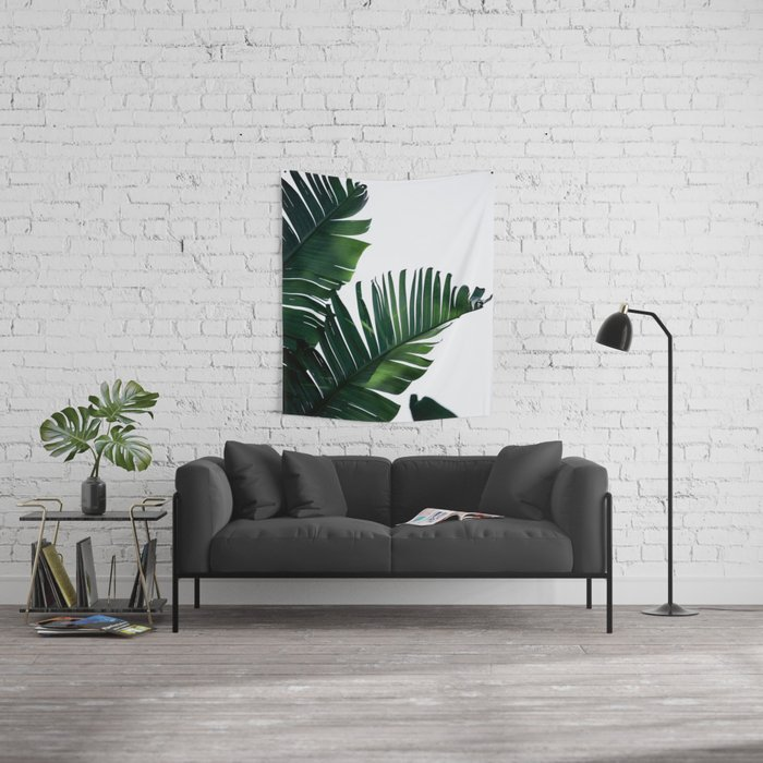 Palm Leaves 16 Wall Tapestry