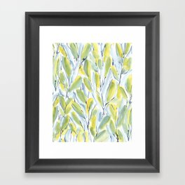 Growth Green Framed Art Print