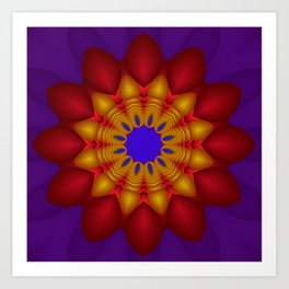 kaleidoscopic pattern -01- Kunstdrucke