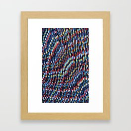 The Cold Framed Art Print