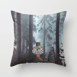 KID'S EATERS Throw Pillow
