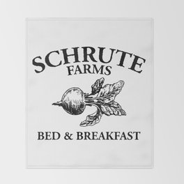 Schrute Farms Throw Blanket