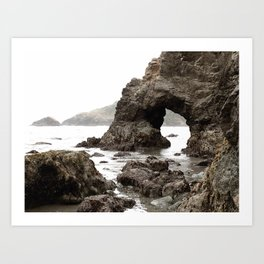 Low Tide Length by Jessi Fikan in Color Art Print
