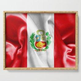 Peru Flag Serving Tray