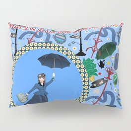 What's in your bag Mary Poppins? Pillow Sham