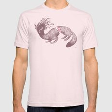 Anxiety SMALL Light Pink Mens Fitted Tee