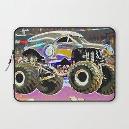Monster Jam Tacoma Laptop Sleeve