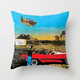 Out of place Throw Pillow