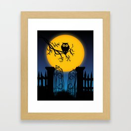 Spooky Halloween 4 Framed Art Print