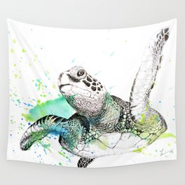 Sea Turtle I Wall Tapestry