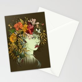 Persephone, goddess of Spring Stationery Cards