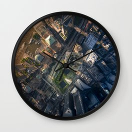Above the One World Trade Center Wall Clock