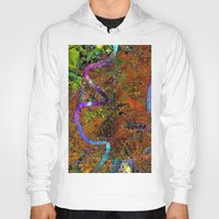 new orleans Hoodies featuring new orleans by donphil