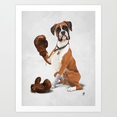 The Boxer (Wordless) Art Print