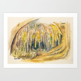 Carlsbad Cavern National Park Art Print