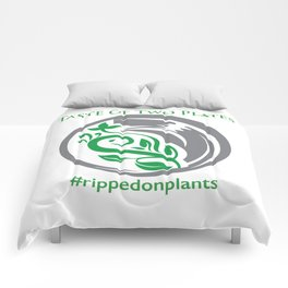 Taste of Two Plates Logo Comforters