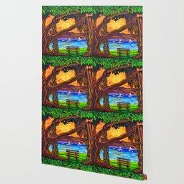 Maui Banyan Bliss Wallpaper