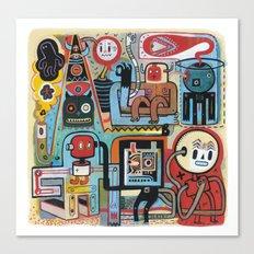 Bananatomique Canvas Print