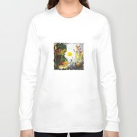 daisies Long Sleeve T-shirts featuring daisies by bsvc