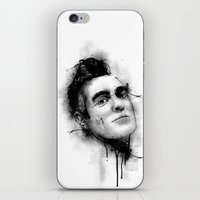 the smiths iPhone & iPod Skins featuring Smiths  by Mr Skillmatik