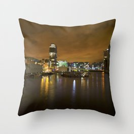 Reflections II - Grand Canal Dock Throw Pillow