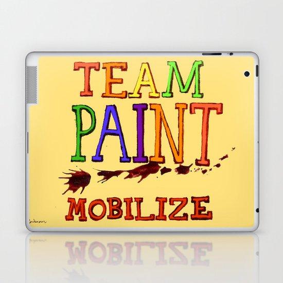 TEAM PAINT MOBILIZE Laptop & iPad Skin