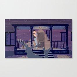 Porch Canvas Print