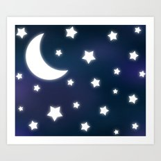 Commission  Starry Sky Art Print