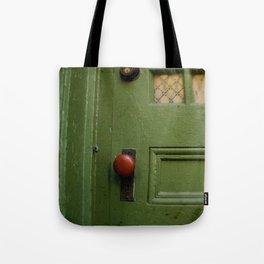 The Red Doorknob Tote Bag