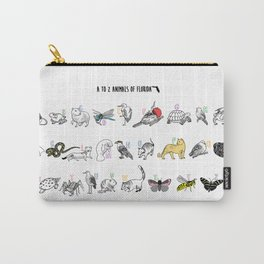 A to Z Animals of Florida Carry-All Pouch