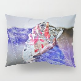 Cold Red Feathers by GEN Z Pillow Sham