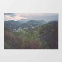 Smoky Mountains National Park Canvas Print