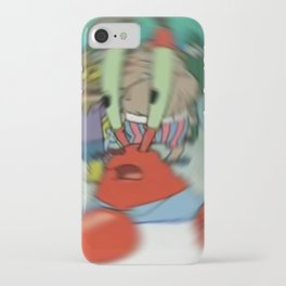 Confused Krab iPhone Case