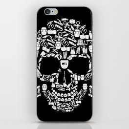 Skull Welder Equipment iPhone Skin