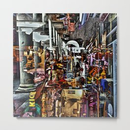 devoted tourist trap delicacies Metal Print